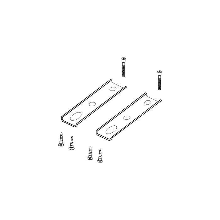 Крепления для экранов к одиночным столам тандем на МК  SB-151