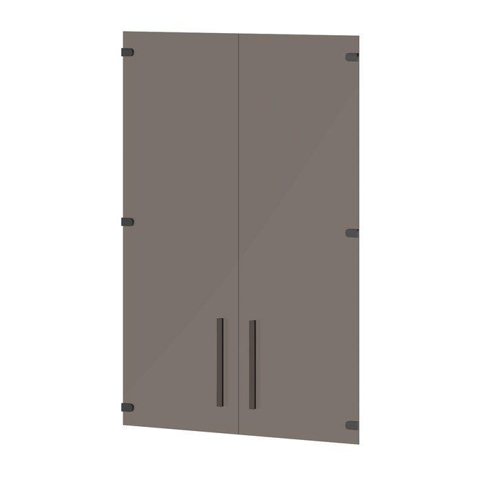 Двери стеклянные средние T-023 Lavana